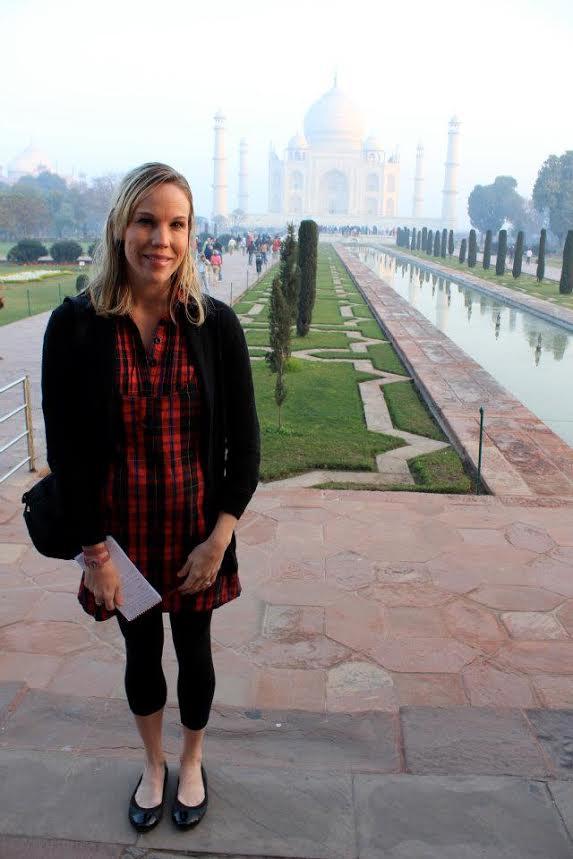 Kristin Finan Taj Mahal