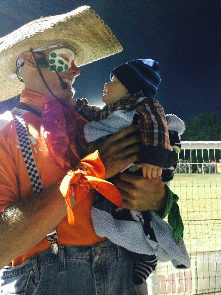 jason holding baby