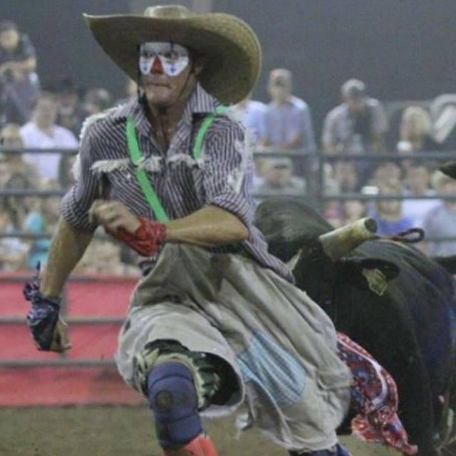 jason running from bull